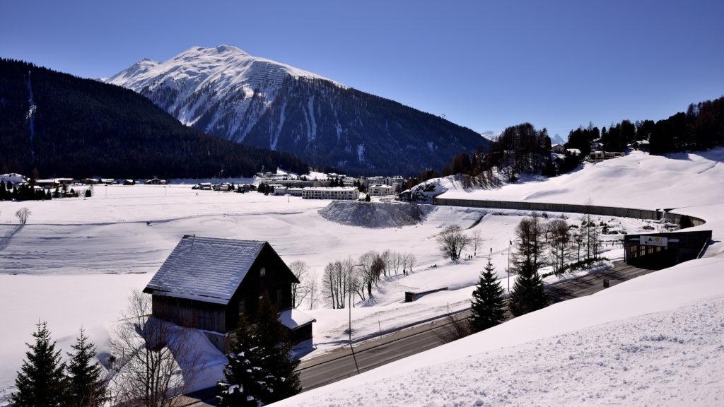 Davos Rundfahrt - Hochgebirgsklinik und zurück - Frühling 2015